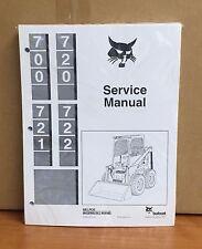 Industrial & Scientific Operators Manual Bobcat 722 Skid