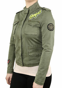 donna Cachi da Jacket 7200 Novit 8 Olive Badge Conegliano No Blonde gFnzqq