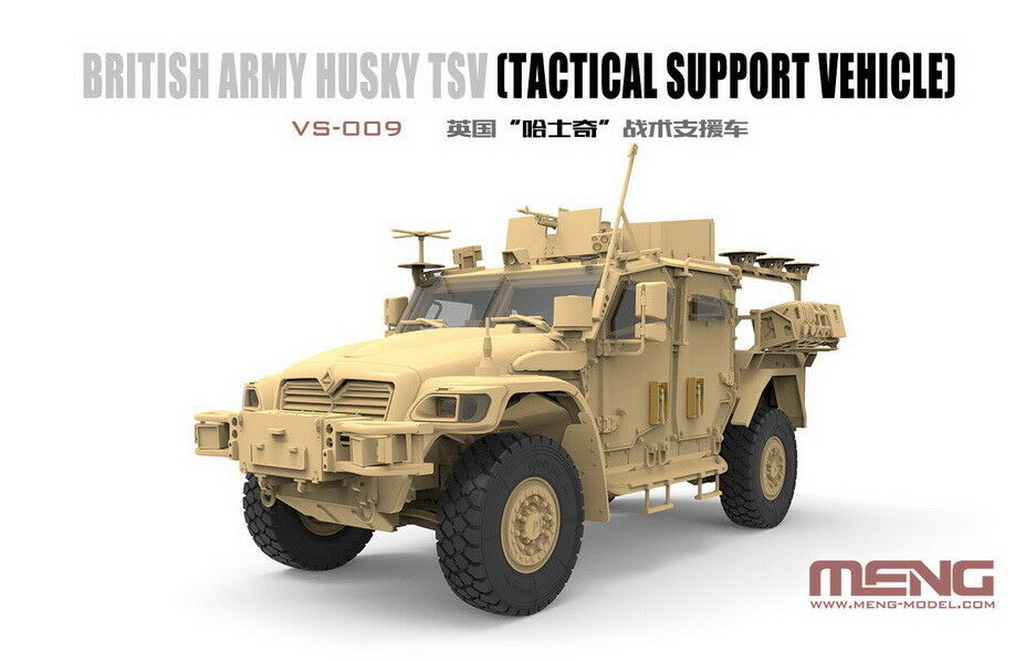 Meng 1 35 British Husky TSV (Tactical Support Vehicle)