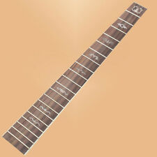 """Acoustic Guitar Rosewood Fretboard Fingerboard """"Horn"""" Pear Inlay W/Chrome Frets"""
