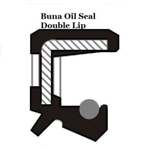 Metric Oil Shaft Seal 30 x 52 x 12mm Double Lip   Price for 1 pc
