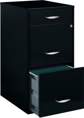 Details about  /3 Drawer Metal File Cabinet Steel Storage Lock Furniture Office Filing Folders
