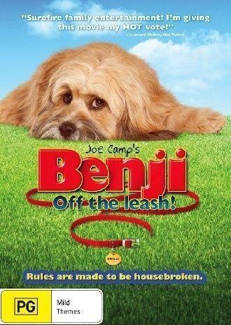 1 of 1 - Benji - Off The Leash (DVD, 2005)