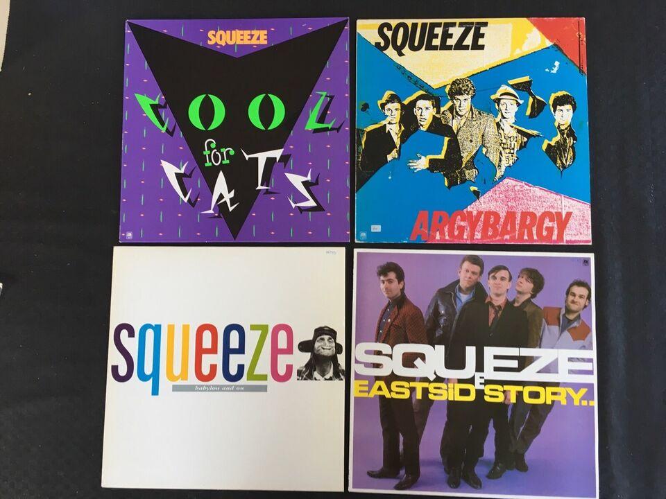 LP, Squeeze, 4 LP'er
