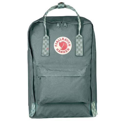 """Fjällräven Kanken 15/"""" Laptop Rucksack Schule Freizeit Tasche green 27172-664-904"""