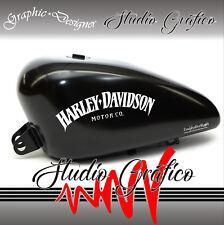 2 X Harley Davidson Stickers Decal Tshirt Singlet Bike Skate