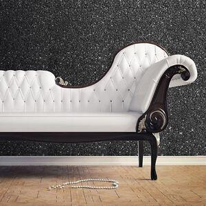 Noir-Texture-Sparkle-Papier-Peint-Rouleaux-Muriva-701353-Neuf