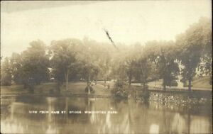 Winchester-MA-From-Main-St-Bridge-c1910-Real-Photo-Postcard