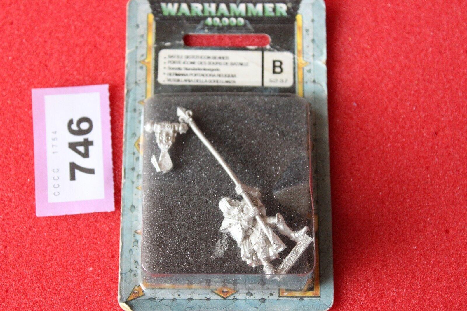Spiele warhammer 40k workshop kampf schwestern schwester symbol fahnenträger bnib neue