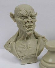 Vampire Biker Bust - Resin Model Kit