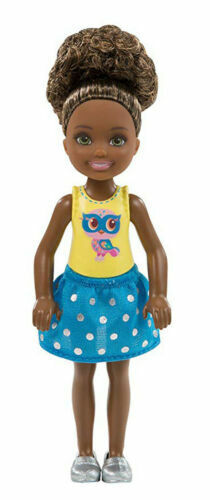 2017 BARBIE CLUB CHELSEA DOLL AFRO AMERICAN NRFB