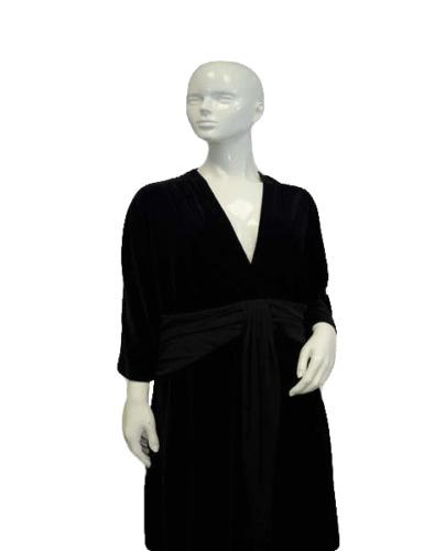 Banquet's & Ball's Velvet Dress Sz XL (SKU 000068)