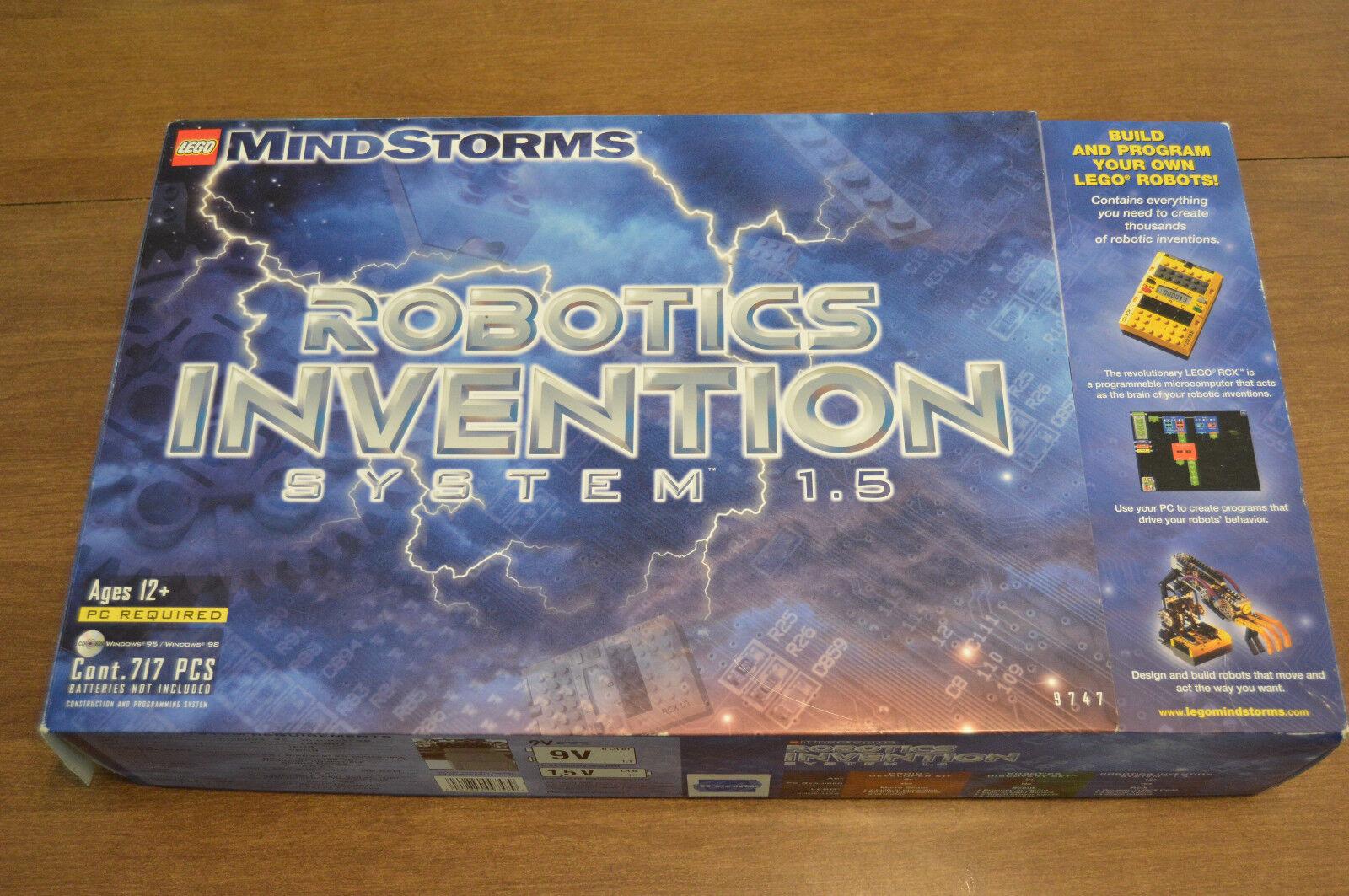 Lego Mindstorms 9747 Robotics Invention System 1.5 Incomplete Parts Pieces