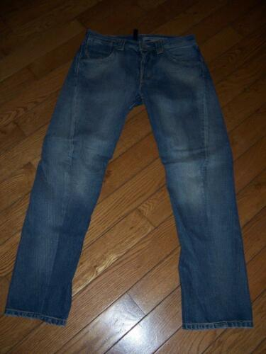 Wash Jeans Vintage 30 Fly Blue 501 Feature Button Engineered W 32 L Levi's p5wTqz4w