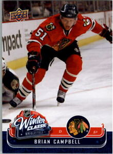 2008-09-Upper-Deck-MVP-Winter-Classic-WC11-Brian-Campbell-NM-MT