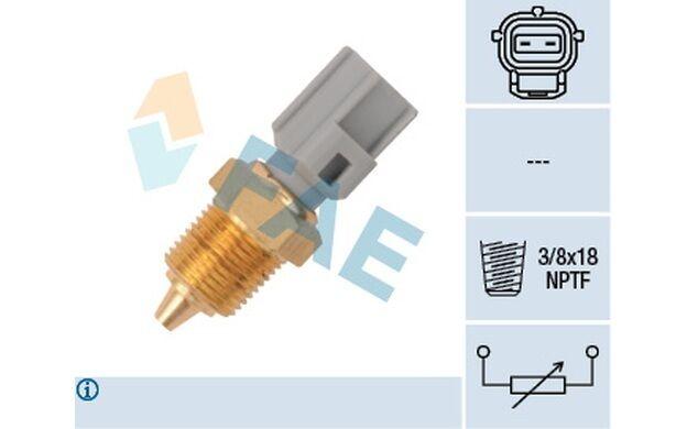 FAE Sensor temp. refrigerante FORD ESCORT MONDEO FIESTA VOLVO S40 MAZDA 33425