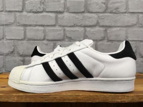 White Leather Eu Velvet Ladies Black Adidas Superstar 38 Trainers Uk 5 tXq4Yw