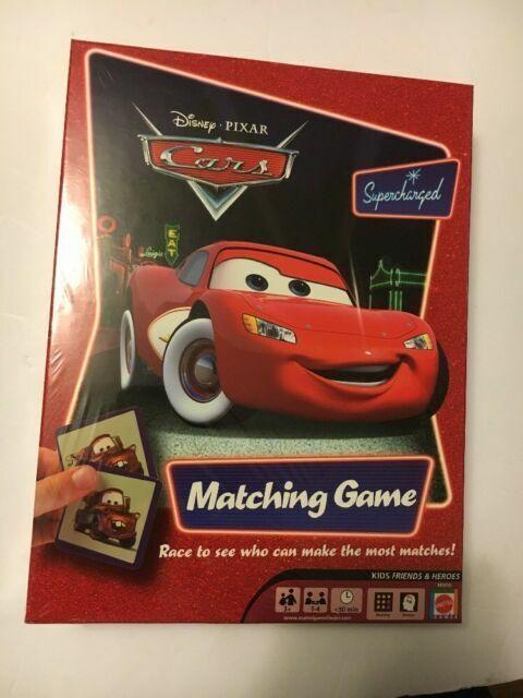 Mattel M3910 Disney Pixar Cars Supercharged Matching Game For Sale Online Ebay