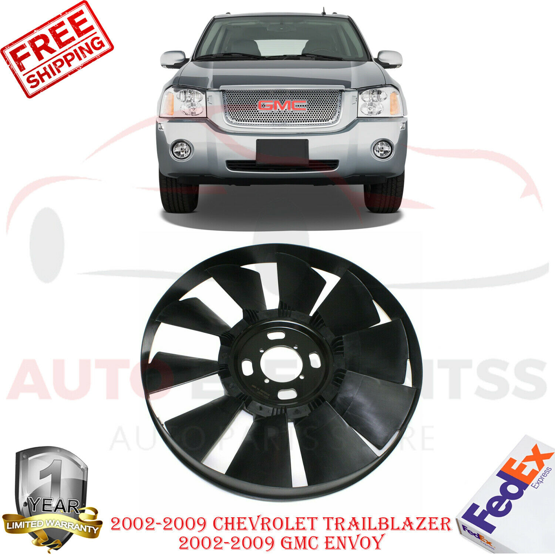 Radiator Support For 2002-2009 Chevrolet Trailblazer GMC Envoy Primed Assembly