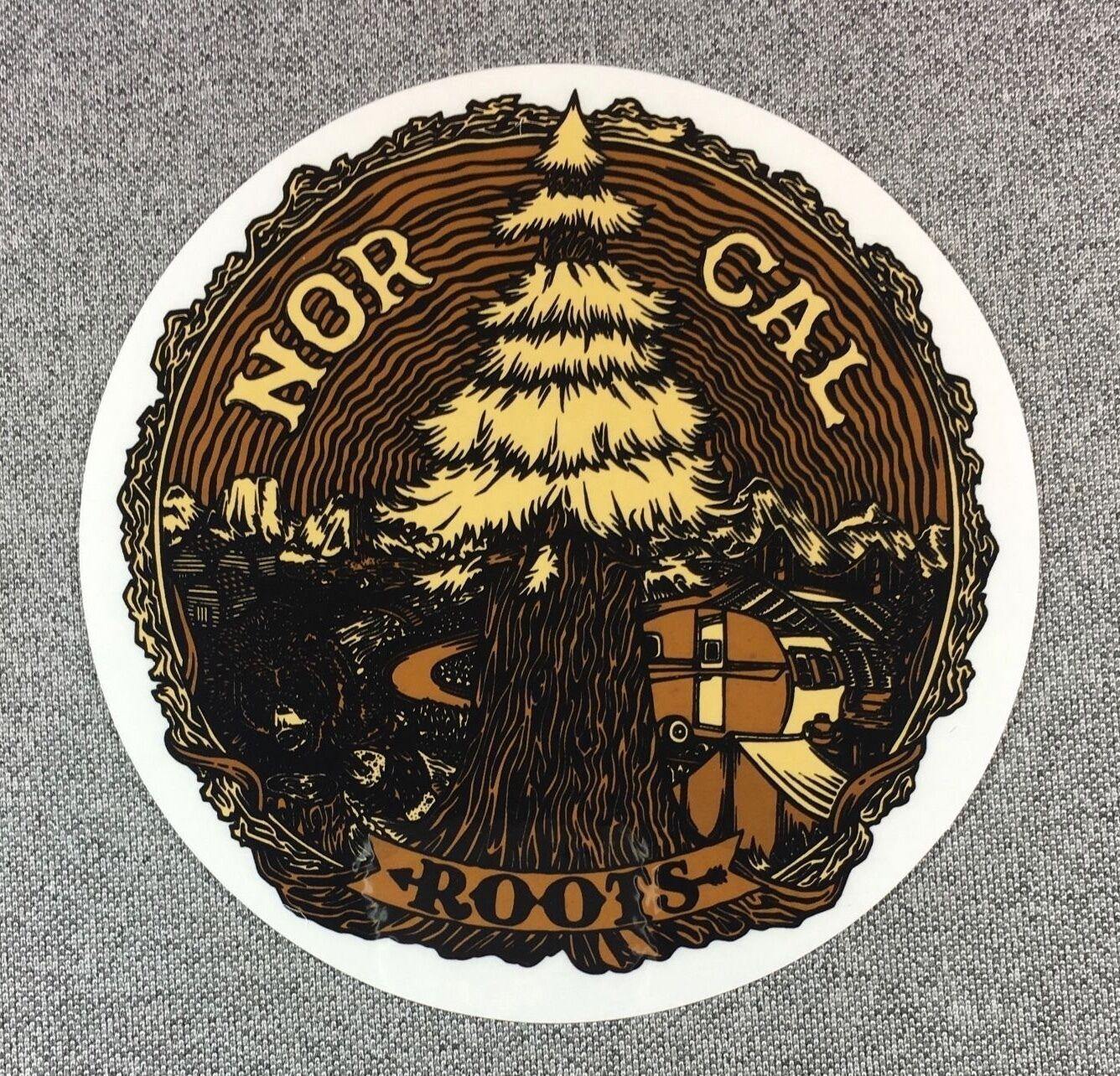 Nor Cal Enraciné Enraciné Enraciné Autocollant Norcal Bear 4.5in Si 6ed7d0