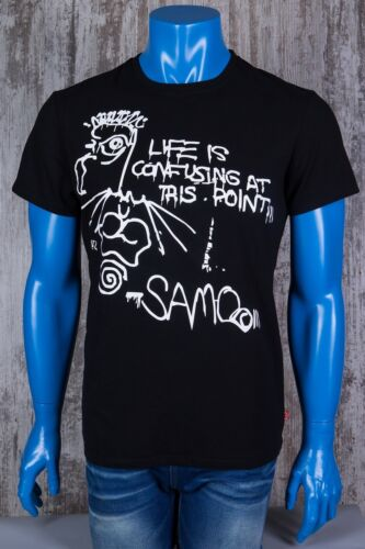 Basquiat Samo Stretch t-shirt with  round neck