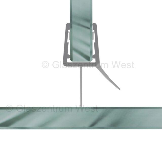 Ersatzdichtung Duschdichtung Wasserabweiser Duschprofil Streifdichtung 20cm - 2m