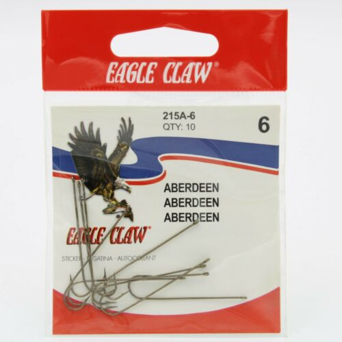 Eagle Claw 215A Aberdeen Cricket Fishing Hooks Bronze Pick A Sz $2 for $10.99