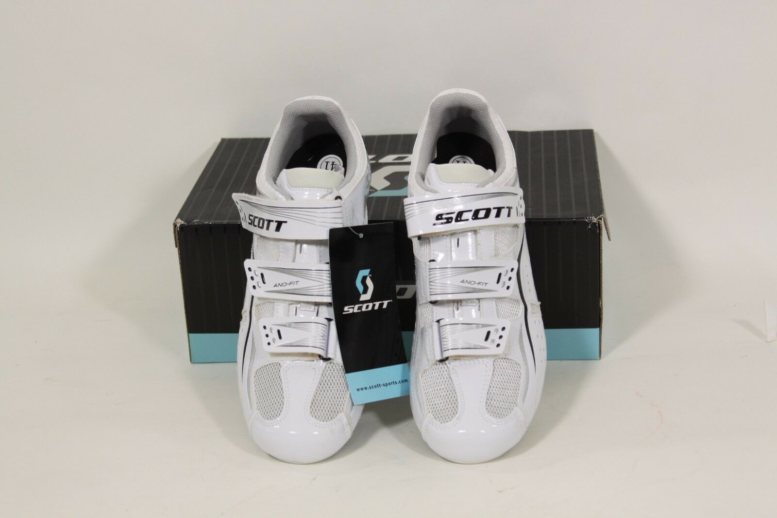 Scott Road Comp Lady Fahrrad Schuhe Weiß Gr. Eu 41 oder Us 9  | Haltbarer Service