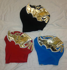 Spandex-Wrestling-Mask-Sin-Cara-Deluxe-Adult-Child-Size-WWE-Lucha-Libre-Mexican