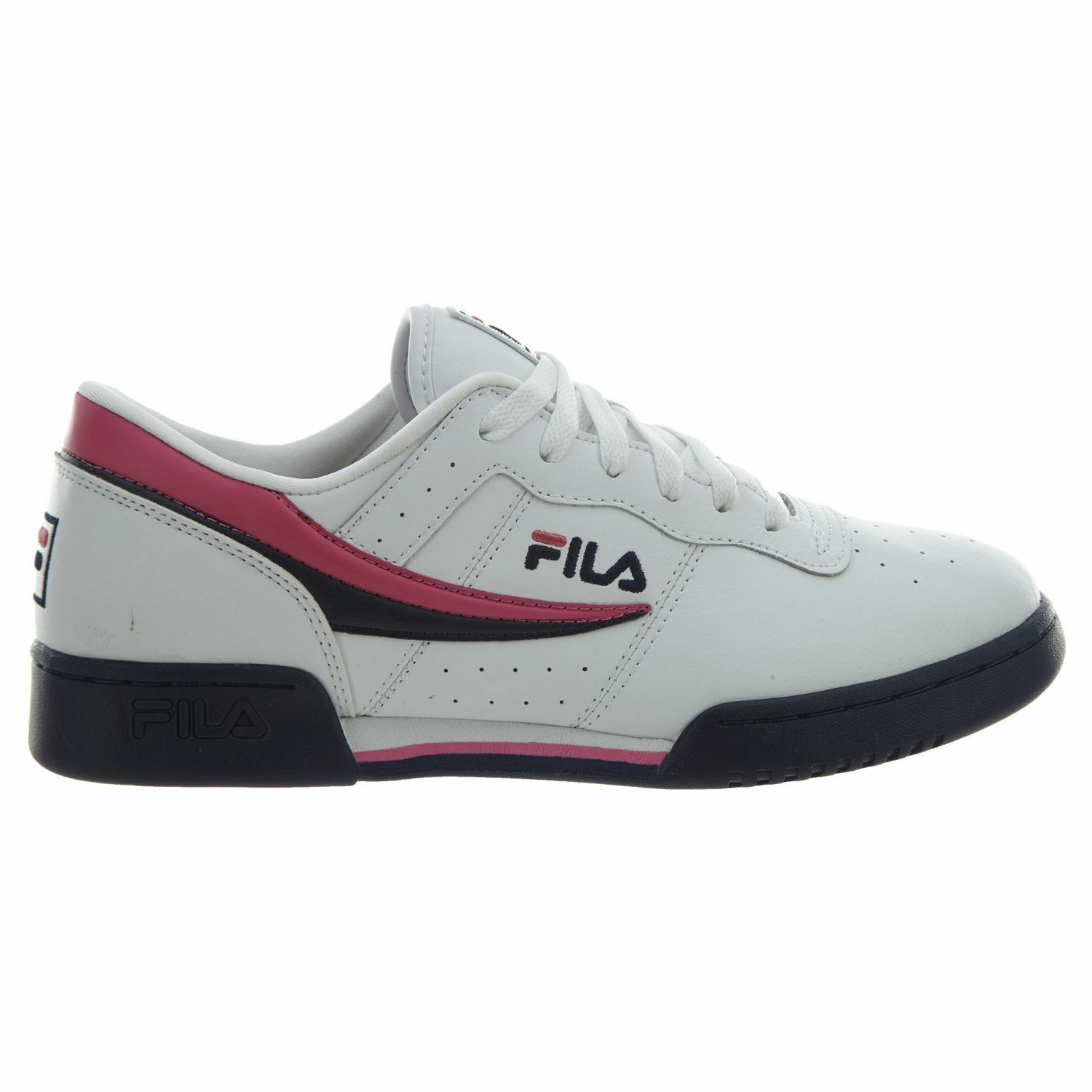 Fila Original Fitness Uomo 1FM00081-148 1FM00081-148 Uomo White Navy Pink Athletic Shoes Size 8 311b1f