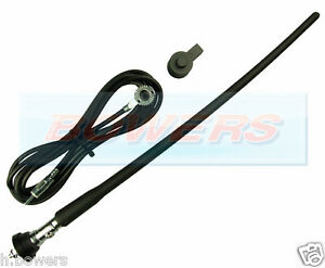 UNIVERSAL-CAR-RADIO-STEREO-AERIAL-ARIEL-ARIAL-RUBBER-FLEXIBLE-ROOF-WING-MOUNTING