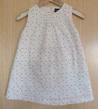 Gap Baby Girls Dress 18 24 months Cream Summer Ditsy Pants BNWT Holiday Pretty