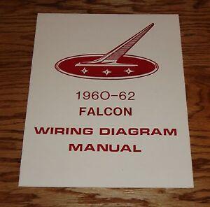1960 1961 1962 Ford Falcon Wiring Diagram Manual 60 61 62 ...