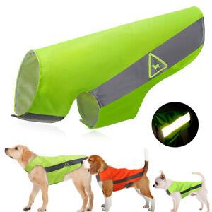 Dog-Safety-Vest-Reflective-Jacket-Coat-High-Visibility-Hi-Vis-for-Hunting-XS-5XL