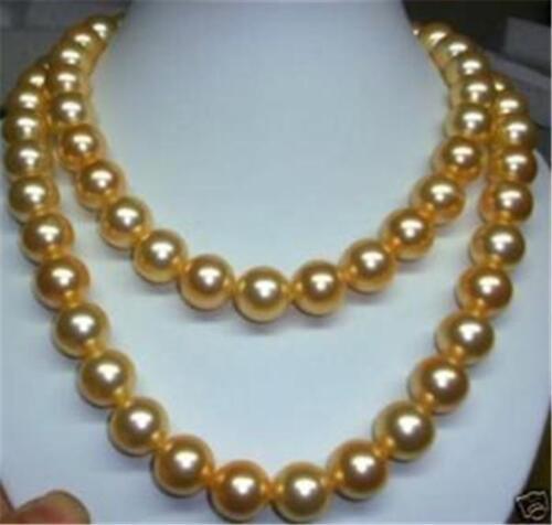 Long 36 in environ 91.44 cm 8 mm or SOUTH SEA SHELL Collier De Perles Mariage Fête Cadeau