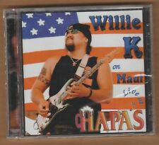 Willie K Live at Hapas * by Willie K. (CD, Apr-2001, 2 Discs, Punahele Productions)