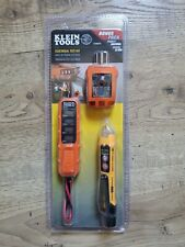 Klein Tools Electrical Test Kit Et45kit Et45 Non Contact Ncvt3p Gfci Rt210