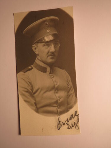 Oscar Dezl ? als Soldat in Uniform - Regiment Nr. 5 / Foto
