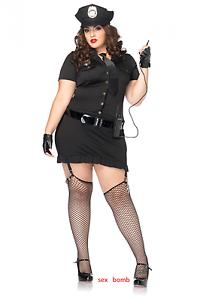 Caricamento dell immagine in corso SEXY-completo-Costume-Poliziotta -Taglie-Comode-CARNEVALE-feste- f2be19dc99e0