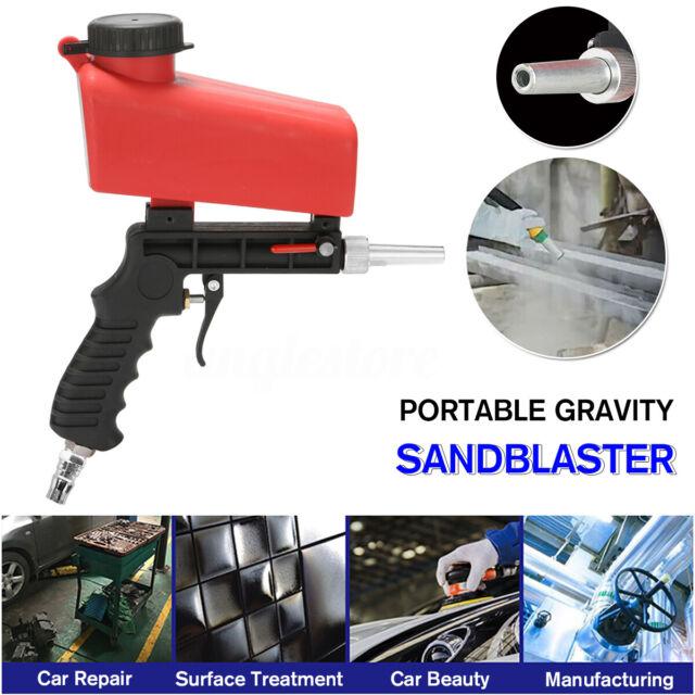 Mobiles Sandstrahlger/ät mit Beh/älter und Pistole