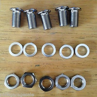 NOS Sugino Extra-Long Triple Chainring Bolts Nuts Spacers Tandem CX Guard Cranks