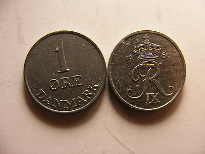 United Kingdom 8 British Coins 1950/'s /& 1960/'s UNCIRCULATED