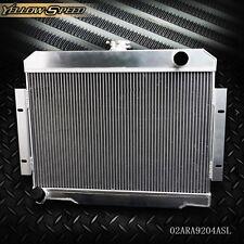 For 72-86 Jeep CJ CJ5 CJ6 CJ7 3.8-5.0 GPLUS Full Aluminum Racing Radiator MT