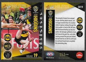 SELECT-2018-HILITES-CARD-JACK-HIGGINS-GOAL-Rd-19-RICHMOND-TIGERS-153-of-255