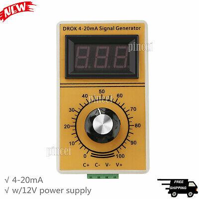 4-20mA Signal Generator Digital 12-24V Dc 4-20ma Signal Source Generator Constant Current Source General