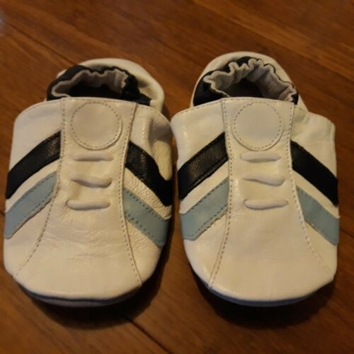 New Baby Soft Sole 100% Leather Infant Boys Girls Shoes Prewalkers 6-24 months