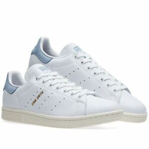 Vintage Mens Adidas Stan Smith Originals Velcro White Tennis