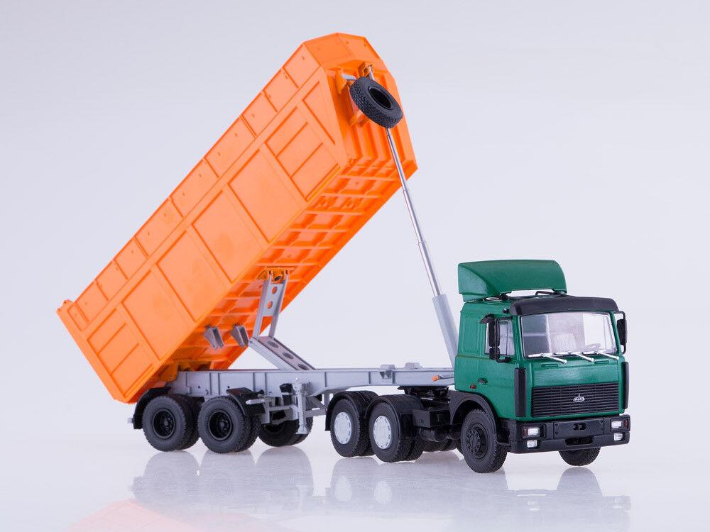 MAZ 6422 + semitrailer MAZ 9506-30 AIST 1 43