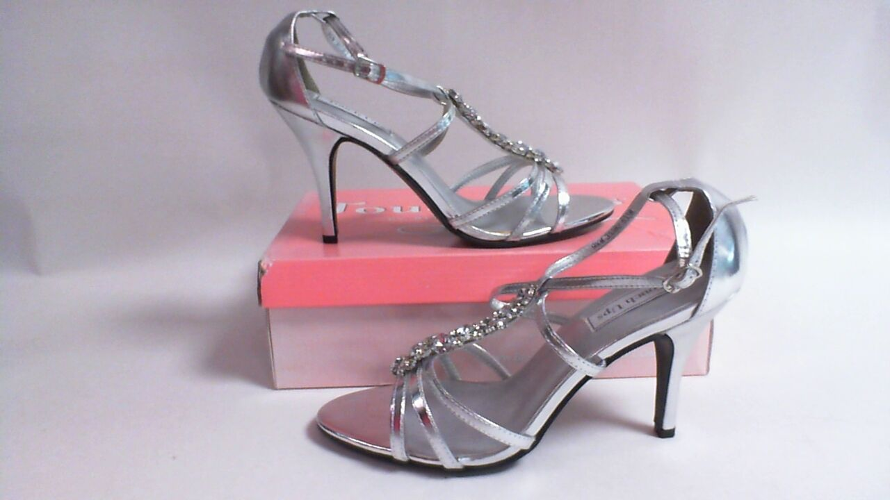 Touch Ups Wedding Shoes - Silver - Vanessa - US 5M UK 3 #29R494