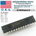 Microchip Mcp23017-e/sp Dip28 16-bit I/o Expander With I2c Interface IC